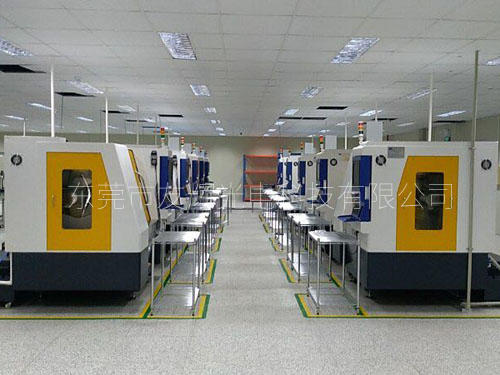3D digital-control grinding and polishing production line of South Korea Shanmukang Company
